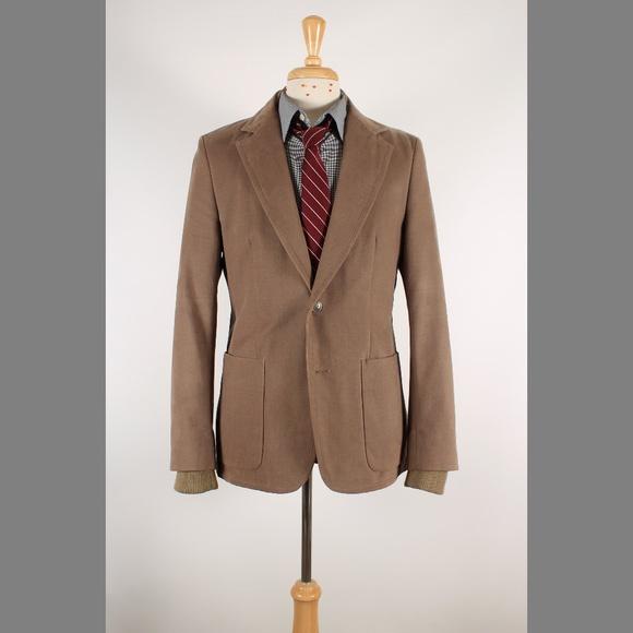 131c10c455 #Zara #Slim 40 Brown 2B Casual Sport Coat 69-8